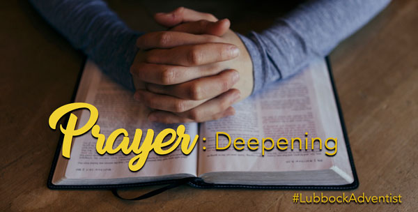Prayer Deepening